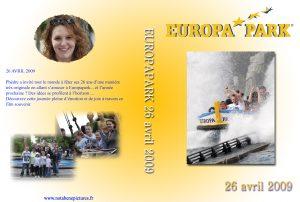 Montage vidéo d'une journée à Europapark -Rust - Allemagne